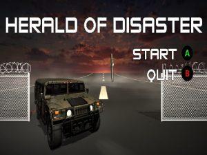 【新着同人ゲーム】Herald of Disaster