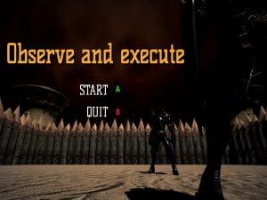【新着同人ゲーム】Observe and execute
