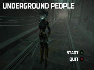 【新着同人ゲーム】Underground people