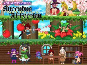 【新着同人ゲーム】SuccubusAffection【English ver】