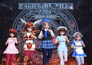 【新着同人ゲーム】魔法少女フィールド2491 全年齢版