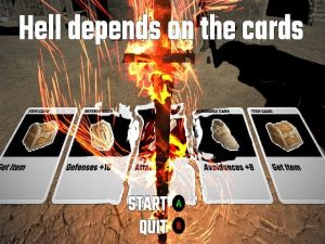【新着同人ゲーム】Hell depends on the cards