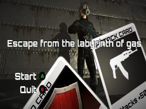 【新着同人ゲーム】Escape from the labyrinth of gas