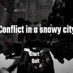 【新着同人ゲーム】Conflict in a snowy city