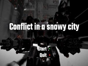 【新着同人ゲーム】Conflict in a snowy city