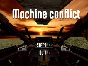 【新着同人ゲーム】Machine conflict